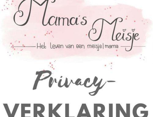 Privacyverklaring Mama's Meisje