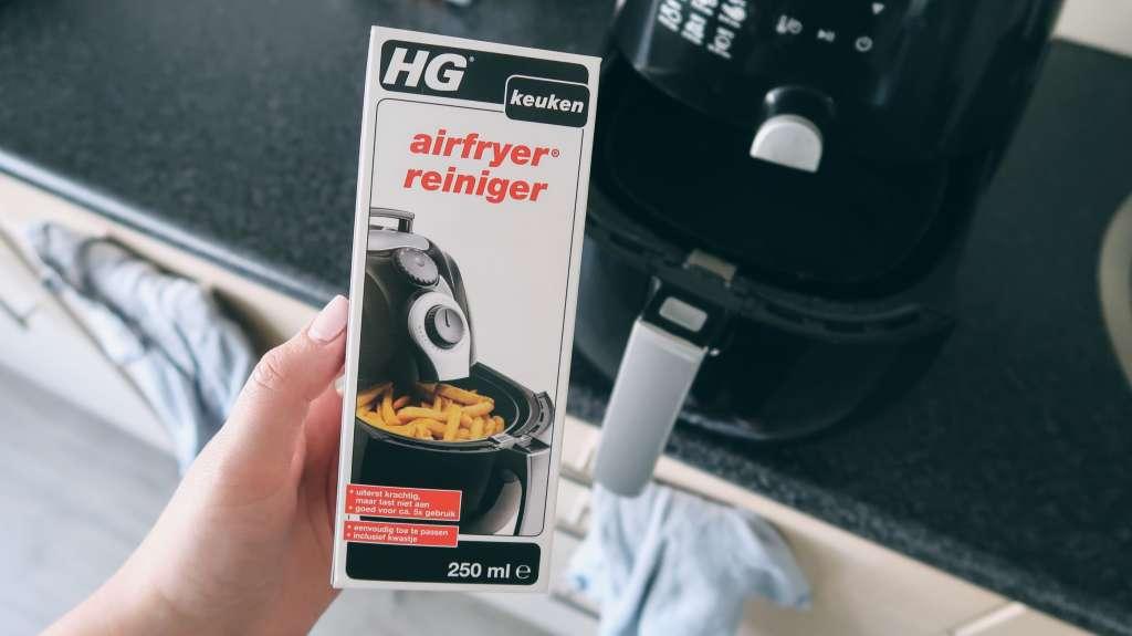 HG airfryer reiniger schoonmaakmiddel schoonmaken ontvetten getest review beoordeling ervaring - Mama's Meisje blog