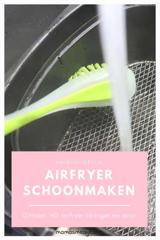 huishoudelijk Pinterest airfryer schoonmaken citroen HG airfryer reiniger azijn - Mama's Meisje blog