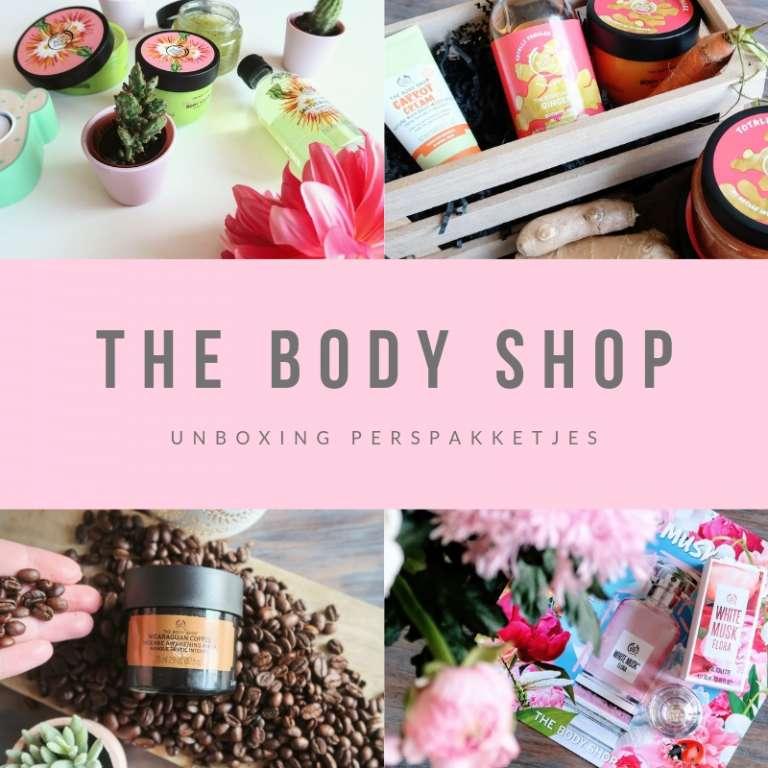 The Body Shop definitieve versie unboxing perspakketjes -Mama's Meisje blog