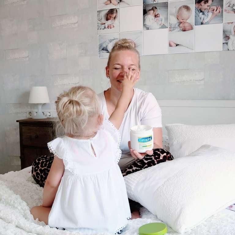 Uitgelichte afbeelding Cetaphil milde huidreiniger en hydraterende creme review beoordeling ervaring - Mama's Meisje blog