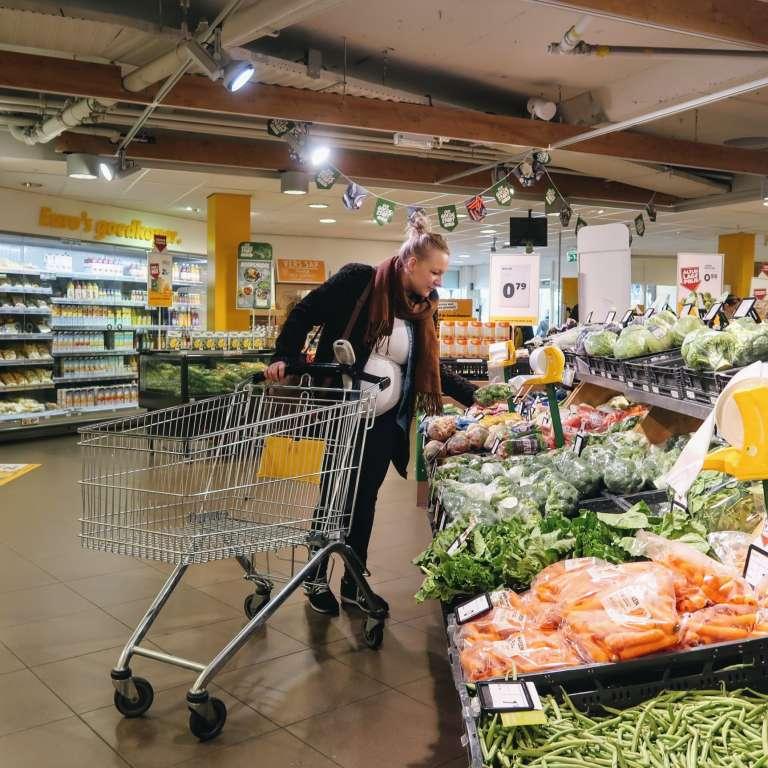Boodschappen shoplog zijn boodschappen duurder geworden budget per week gezin vier personen voorbeeld uitgaven - Mama's Meisje blog