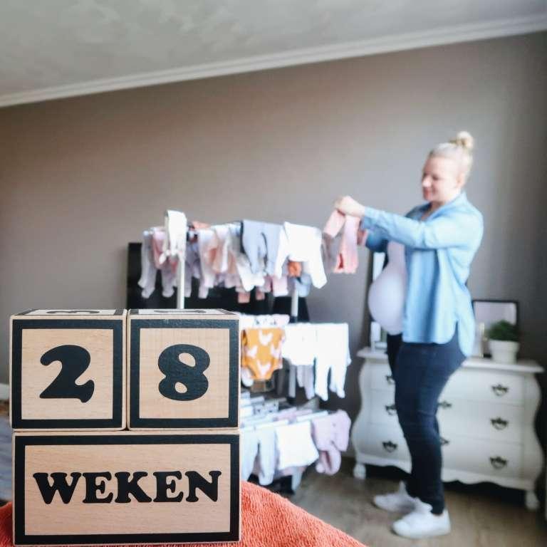 28 weken zwanger - Mama's Meisje blog