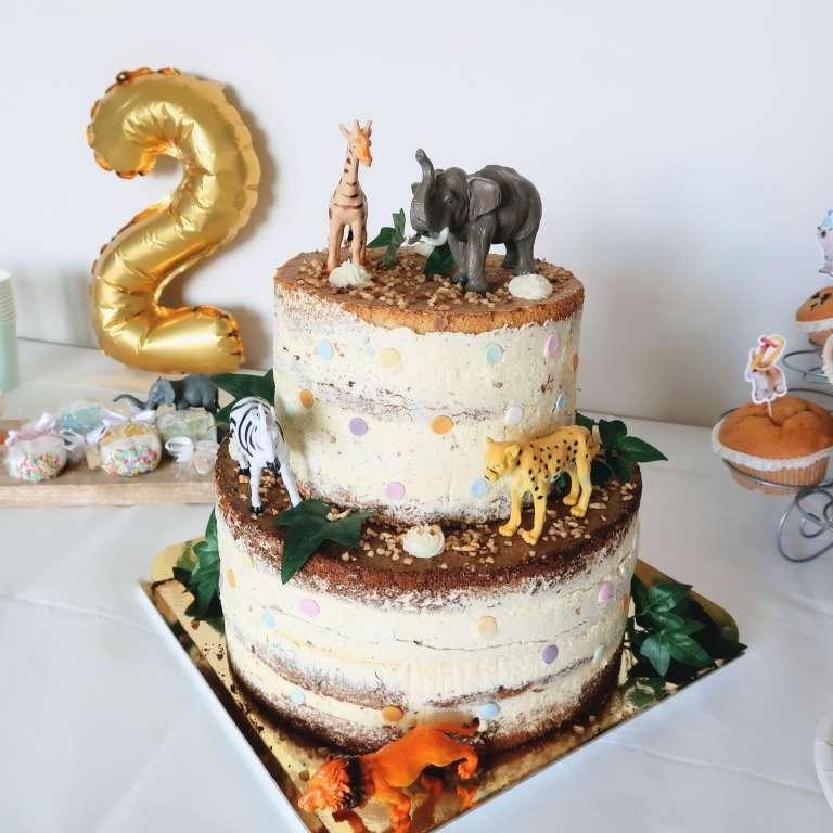Jungle verjaardagsfeestje Een safari sweet table voor Niene! - Mama's Meisje blog