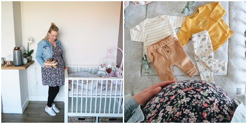 collage 35 weken zwanger - Mama's Meisje blog
