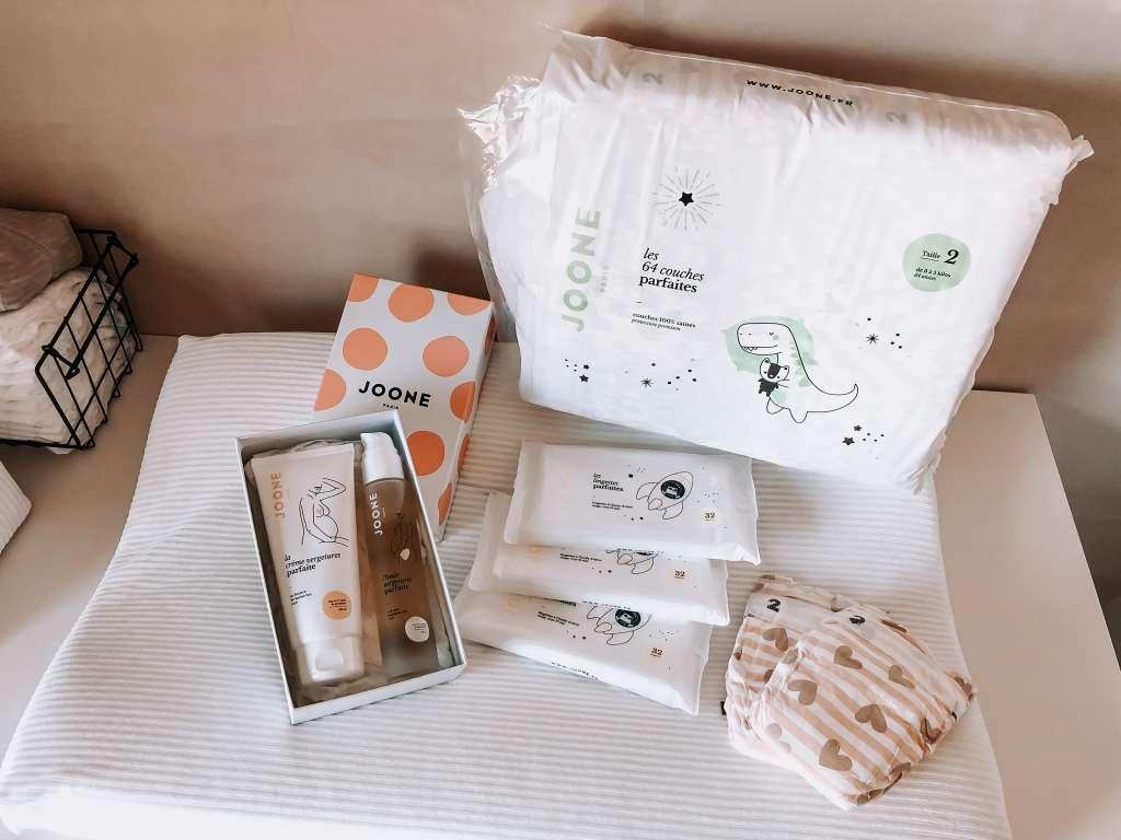 JOONE Paris perspakket luiers billendoekjes zwangerschap olie buikolie striae - Mama's Meisje blog