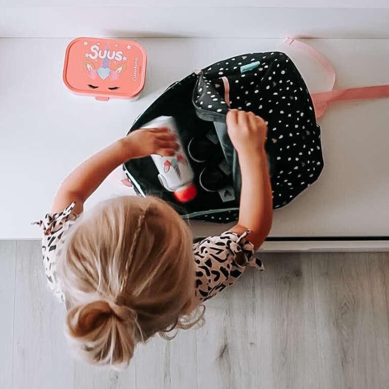 Starten op de basisschool met een glutenvrij dieet - Mama's Meisje blog