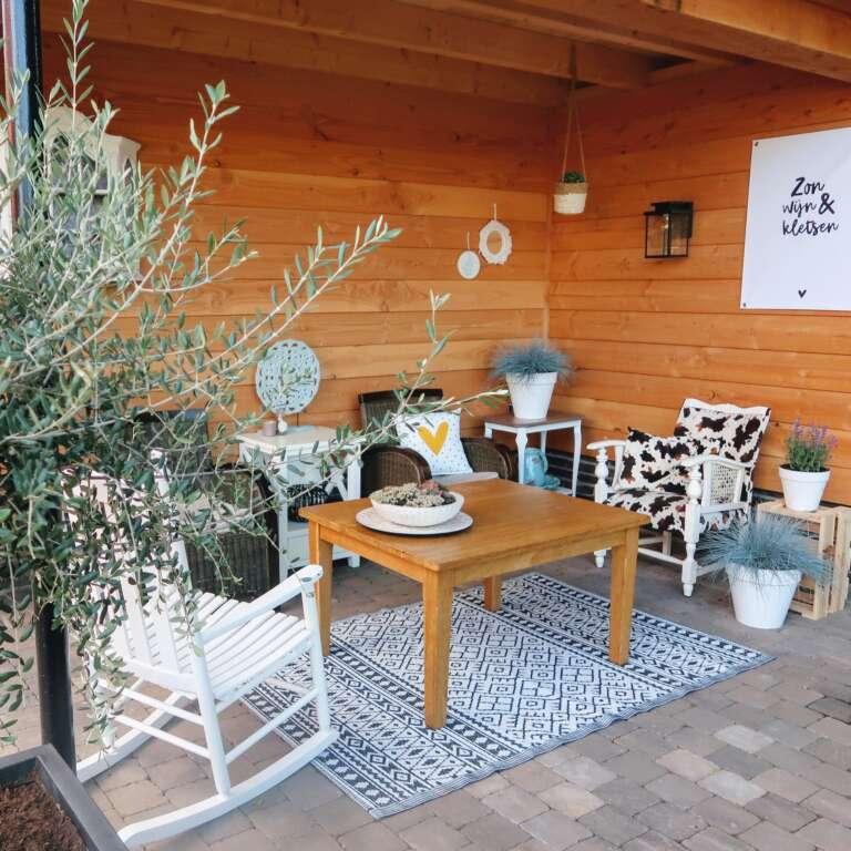 Tuin inspiratie de overkapping inrichten in Ibiza style! - Mama's Meisje blog