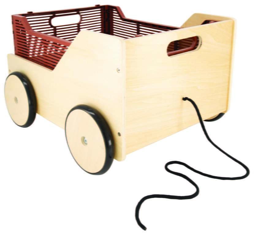 Klapkratkar HEMA blokkenkar houten kar speelgoedkar - Mama's Meisje blog