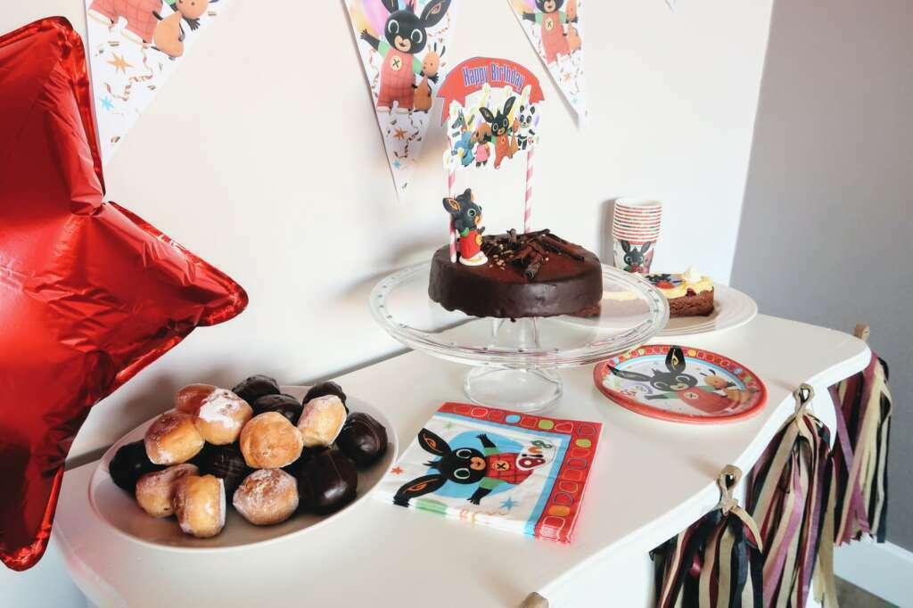 Bing verjaardagsfeestje - Mama's Meisje blog