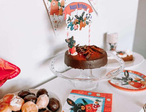 Bing verjaardagsfeestje | sweet table voor Niene's 3e verjaardag!