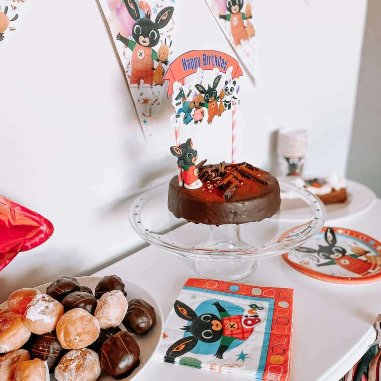 Bing verjaardagsfeestje sweet table voor Niene's 3e verjaardag! - Mama's Meisje blog