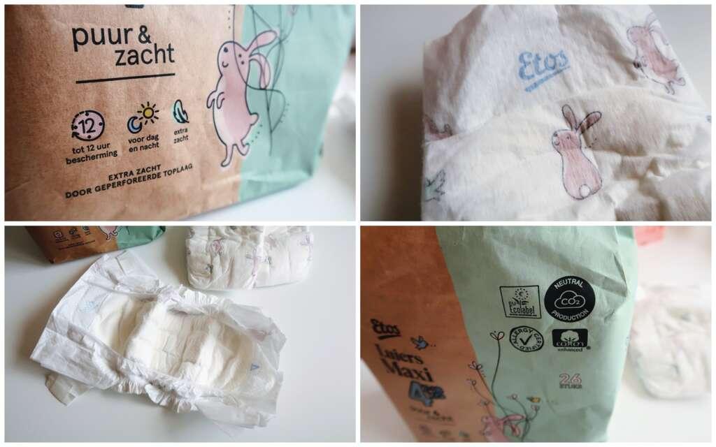 eco friendly luier milieu duurzaam groen co2-neutraal geproduceerde wegwerpluier ecolabel - Mama's Meisje blog