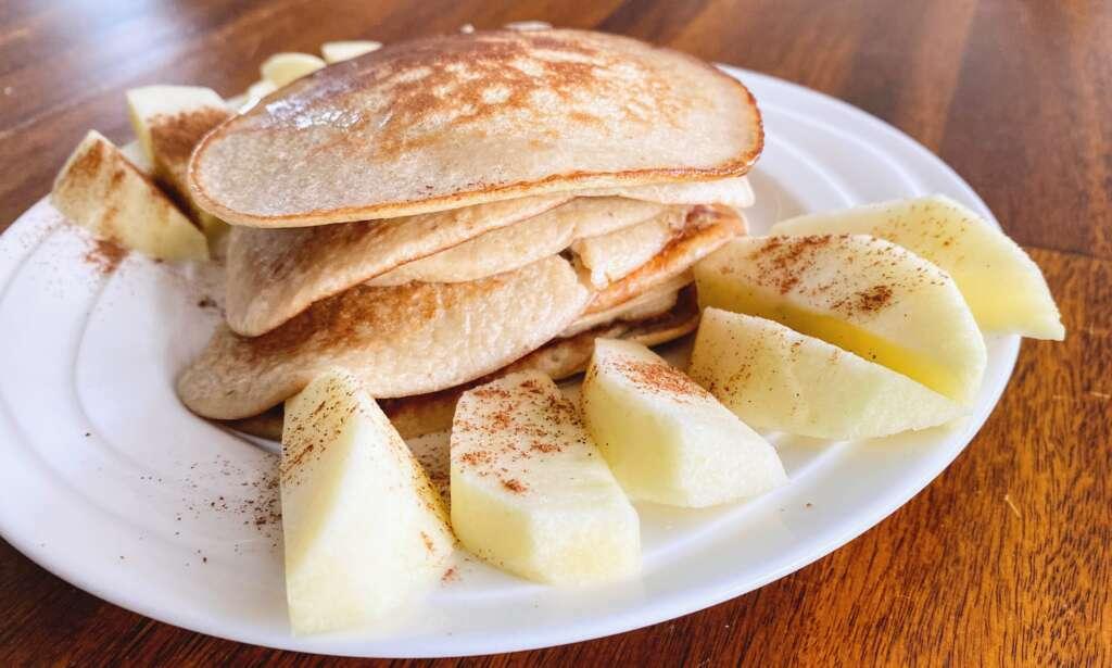Bananen pannenkoek recept favoriete lunchgerechten - Mama's Meisje blog