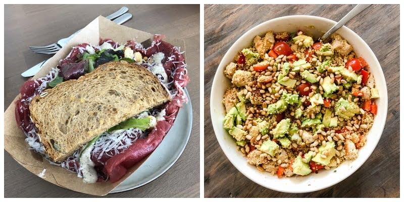 salade als lunch ideeën - Mama's Meisje blog