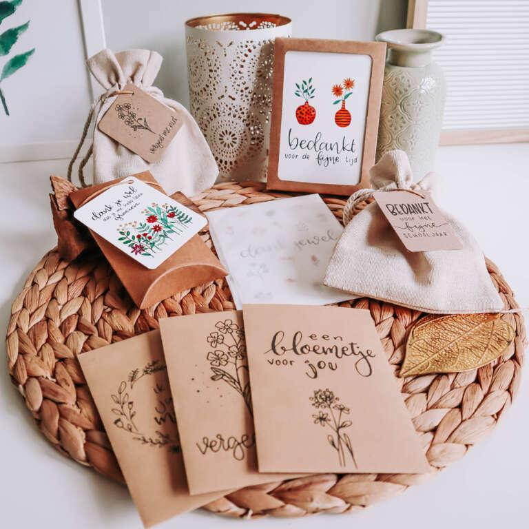 Juffenbedankjes fleurige cadeautjes om aan het einde van het schooljaar te geven! - Mama's Meisje blog