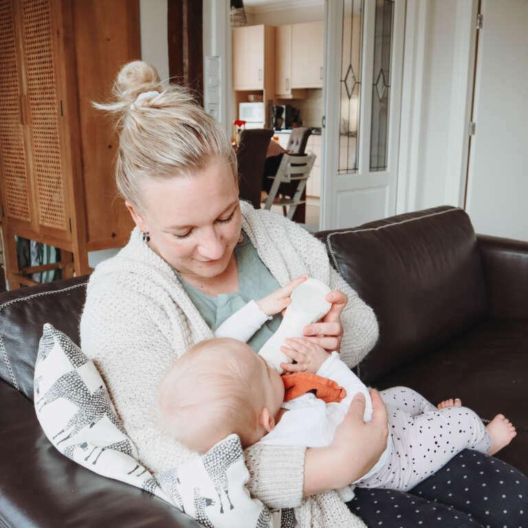 Mijn ervaring met de Difrax S-fles - Mama's Meisje blog