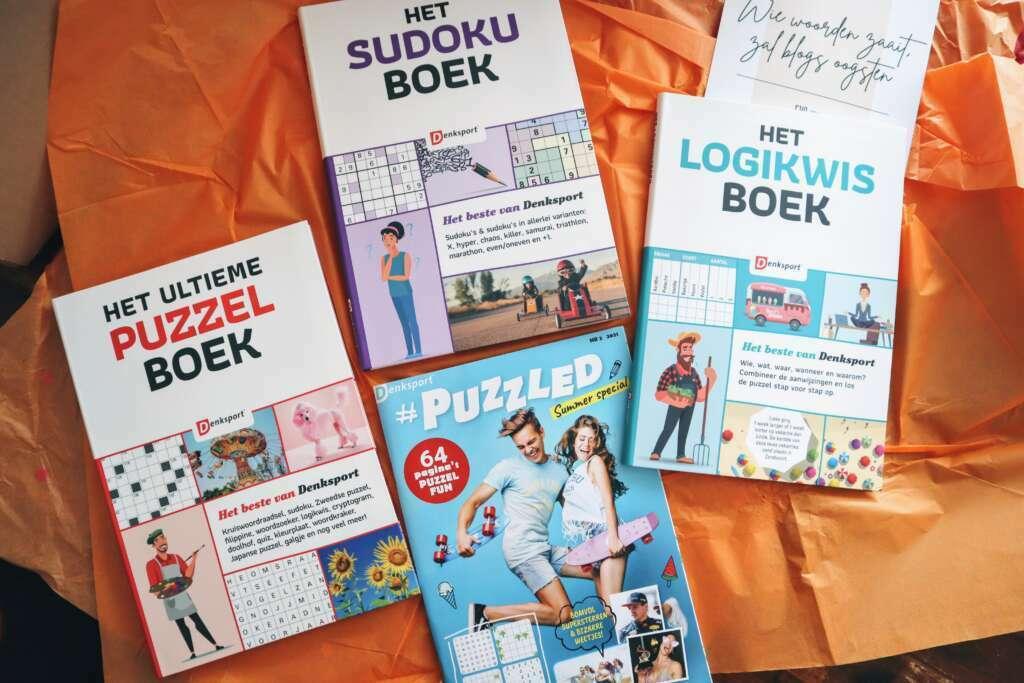 Puzzelboekjes van Denksport - Mama's Meisje blog