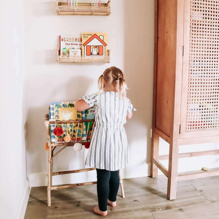Speelhoek in de woonkamer De makeover van onze speelhoek! - Mama's Meisje blog