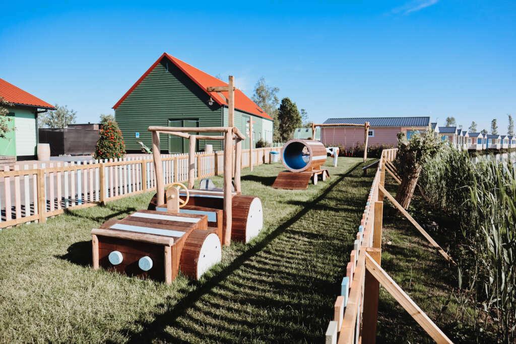 grote speeltuin bij restaurant Gasterij Molenwaard - Mama's Meisje blog