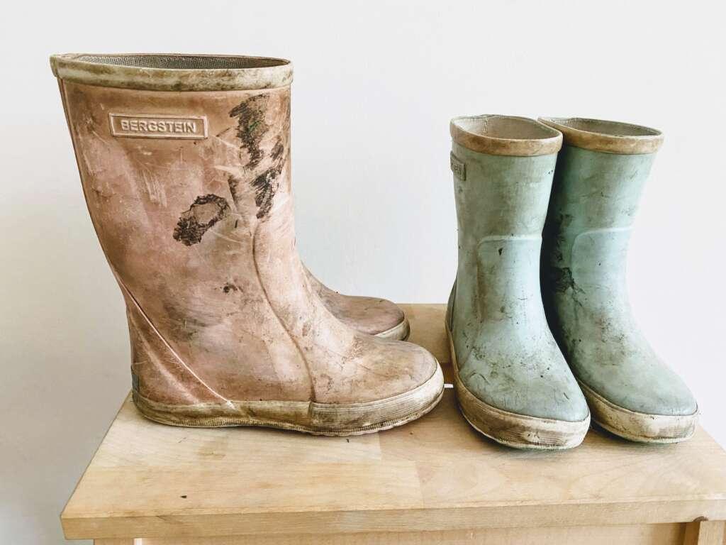 Bergstein laarzen schoonmaken - Mama's Meisje blog