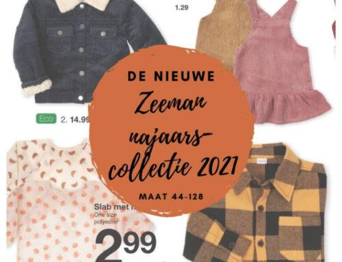 Budgettip | De nieuwe Zeeman baby- en kinderkleding najaarscollectie 2021!
