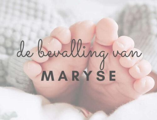 De Bevalling van: Maryse