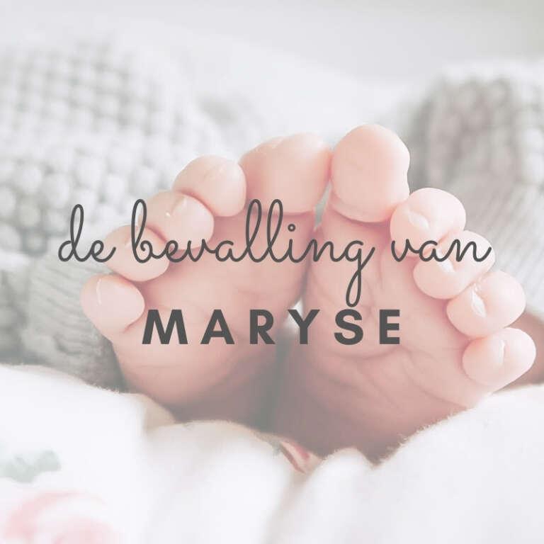 Maryse - Mama's Meisje blog