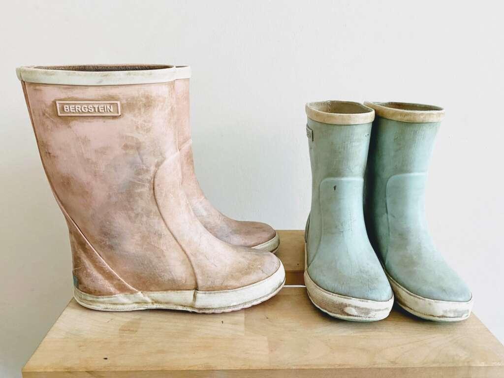 Regenlaarsjes in de wasmachine - Mama's Meisje blog