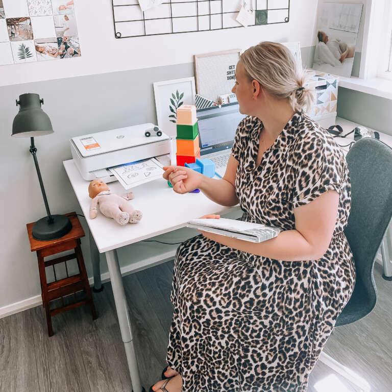 Thuiswerken met kinderen zo kijk ik terug op het afgelopen jaar - Mama's Meisje blog