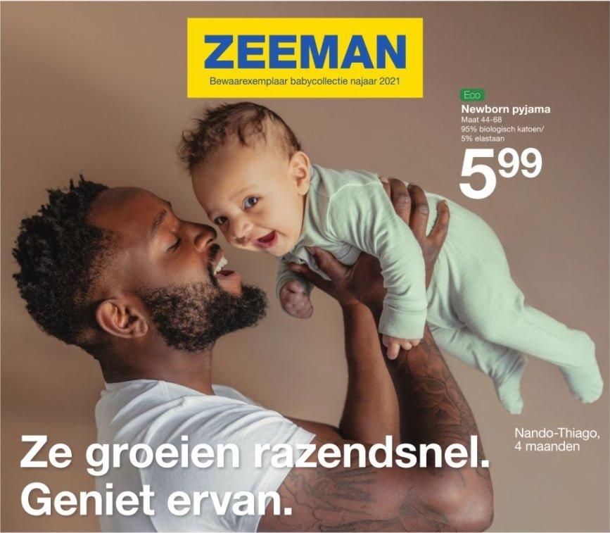 Zeeman bewaarexemplaar babycollectie najaar 2021
