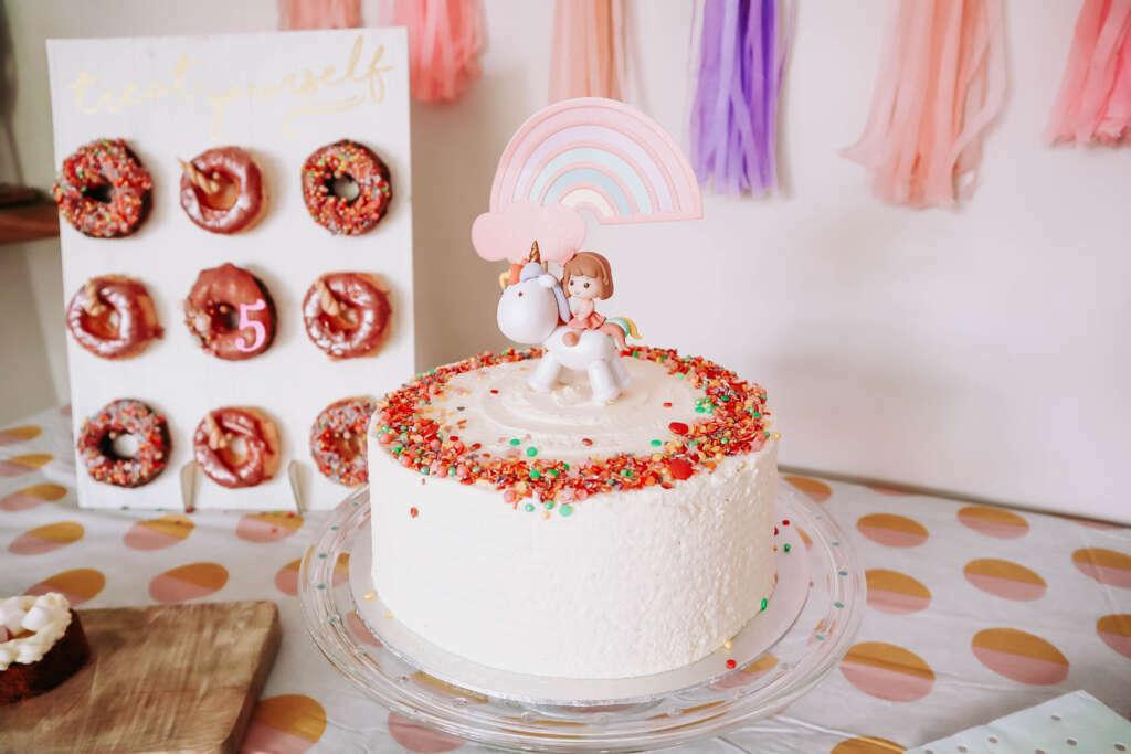 glutenvrije verjaardagstaart - Mama's Meisje blog