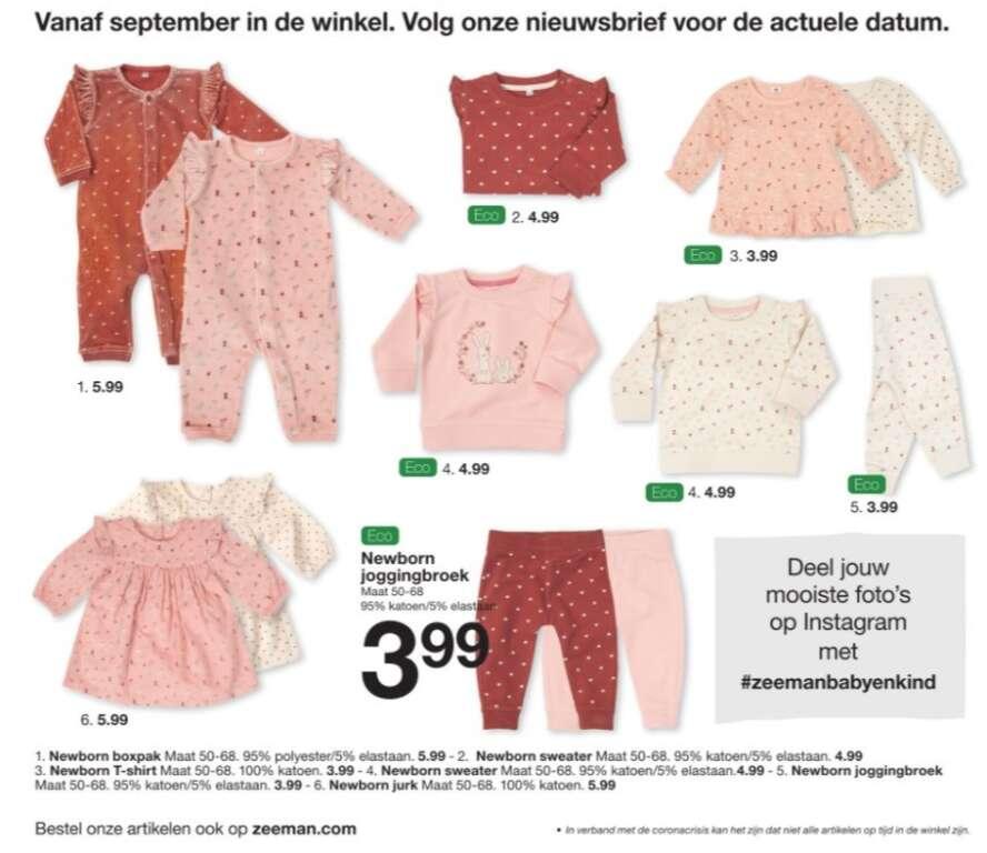 Zeeman babyfolder vanaf september in de winkel 2021 - Mama's Meisje blog