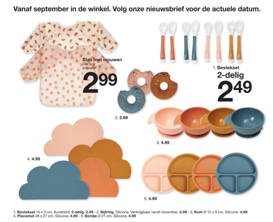 Zeeman accessoires najaarscollectie 2021 baby kind - Mama's Meisje blog