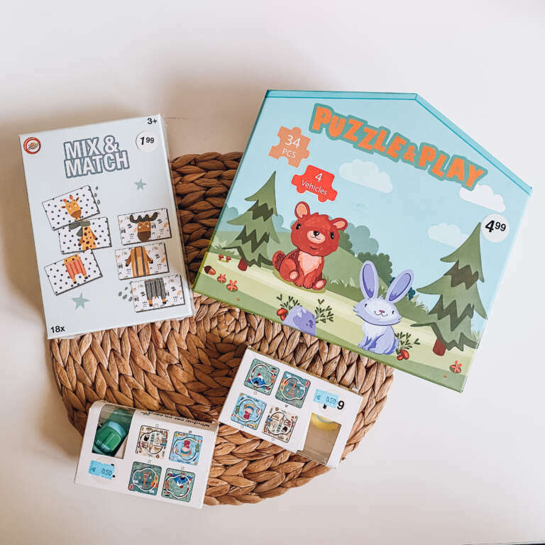 Budgettip Leuke puzzels van Zeeman! - Mama's Meisje blog