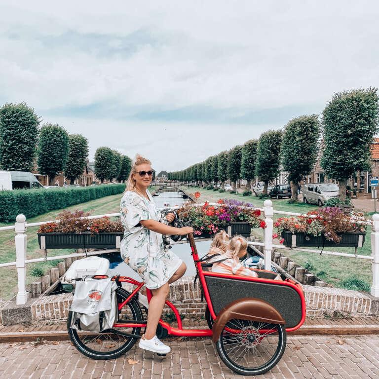 Friesland met kinderen deze kinderuitjes vonden wij het leukst! Bakfiets huren in Friesland - Mama's Meisje blog