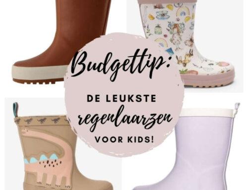Budgettip | De leukste regenlaarzen voor kinderen (max. €20!)