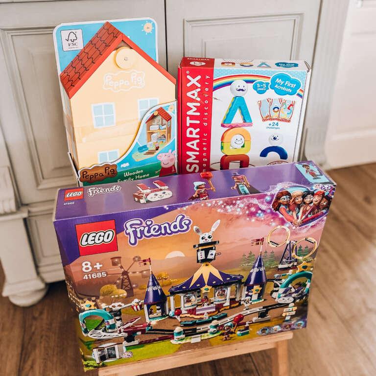 Peppa Pig houten huis SmartMax Lego Friends Magische Kermisachtbaan genomineerd - Mama's Meisje blog