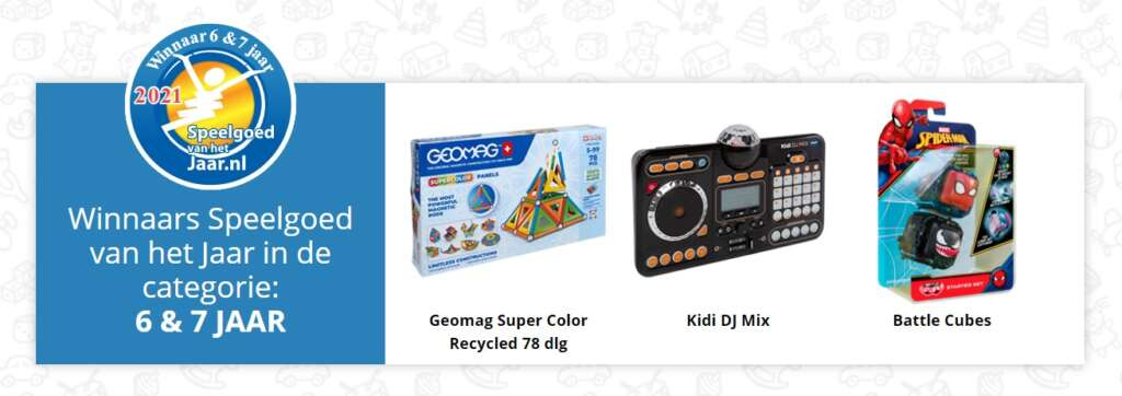 Speelgoed van het jaar 2021 categorie 6-7 jaar - Mama's Meisje blog