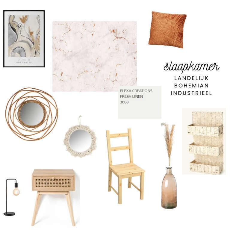 Moodboard slaapkamer make-over plannen voor onze slaapkamer! - Mama's Meisje blog