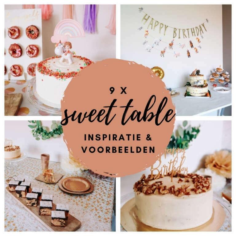 Sweet table inspiratie 9 voorbeelden van zo'n zoete tafel! - Mama's Meisje blog